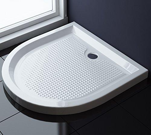 90x90x6 cm design duschtasse faro4ar in wei mit anti rutsch profil duschwanne acrylwanne. Black Bedroom Furniture Sets. Home Design Ideas