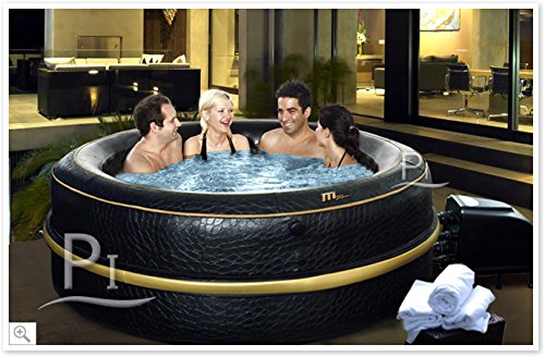 AAufblasbaren Hydromassage-Wannen SPA LUXURY EXOTIC