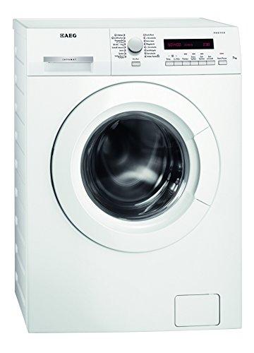 AEG L7347FL Waschmaschine/A+++ / 167 kWh/Jahr / 1400 UpM / 7 kg/Dampfprogramme / Beladungserkennung/Aqua-Control/weiß [Altes Modell]