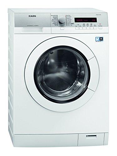 AEG L77685WD Waschtrockner / AA / 1600 UpM / Waschen: 8 kg / Trocknen: 6 kg / silber