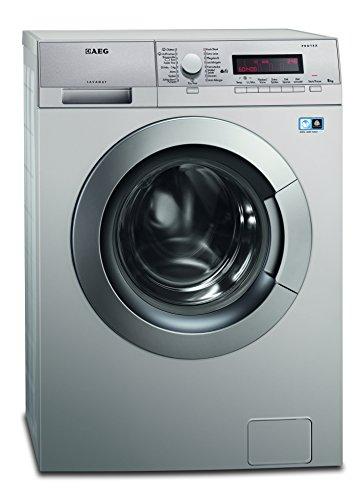 AEG LAVAMAT L83485SFL Waschmaschine FL/A+++/191 kWh/Jahr/1400 UpM/8 kg/Aqua-Control-System/Wassermengen-Sensor/silber