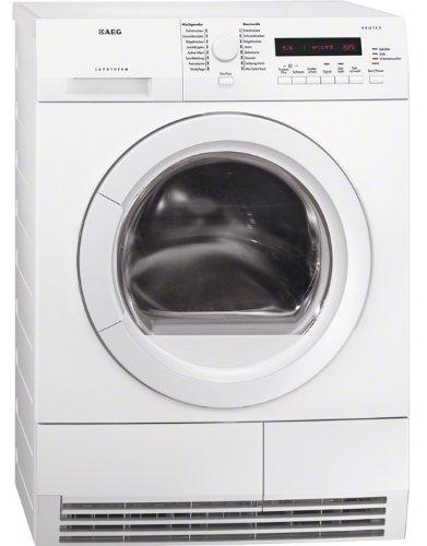 AEG T76285AC Kondenstrockner / B / 8 kg / Weiß