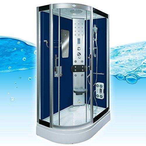 AcquaVapore DTP8060-7200L Dusche Duschtempel Komplett Duschkabine 120x80