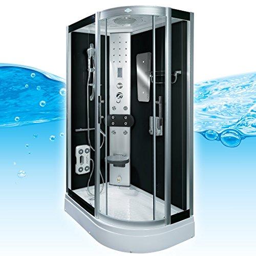 AcquaVapore DTP8060-7300R Dusche Duschtempel Komplett Duschkabine 80x120