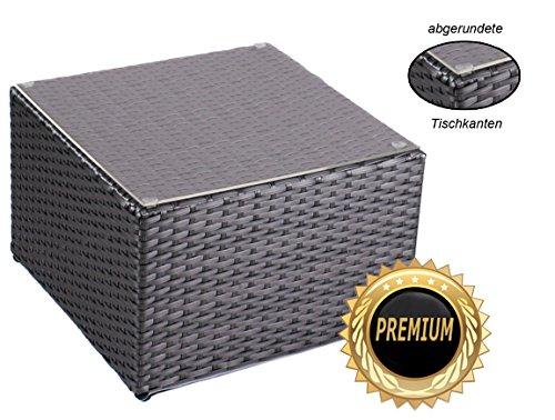 alu beistelltisch inkl plexiglasplatte 4 x verstellbare. Black Bedroom Furniture Sets. Home Design Ideas