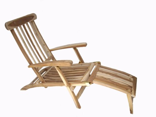 ambientehome teakholz deckchair liege gartenliege samui natur 0 m bel24. Black Bedroom Furniture Sets. Home Design Ideas