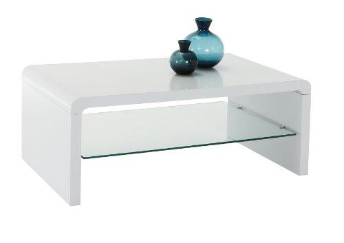 apollo 910675p couchtisch ramon dekor hgl wei klarglasablageboden 100 x 60 x 39 cm m bel24. Black Bedroom Furniture Sets. Home Design Ideas