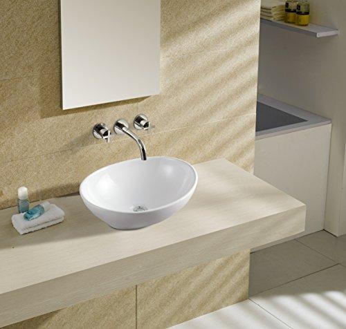 art of baan design waschbecken waschschale aufsatz 410 330 145 mm reinwei oval m bel24. Black Bedroom Furniture Sets. Home Design Ideas