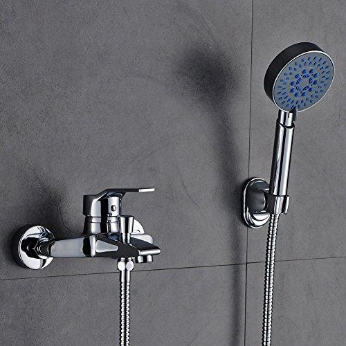 auralum zeitgen ssig dusch set berkopf brauseset inkl wandhalterung handbrause m bel24. Black Bedroom Furniture Sets. Home Design Ideas