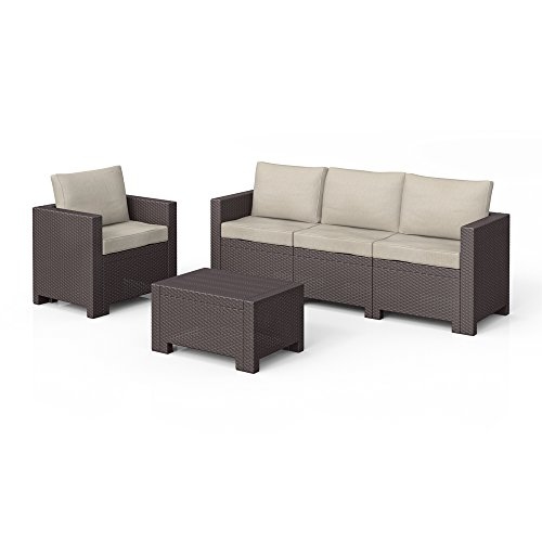 bica colorado lounge set poly rattan gartenm bel rattanoptik sitzgruppe auflagen m bel24. Black Bedroom Furniture Sets. Home Design Ideas