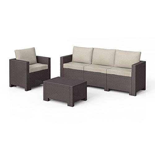 bica colorado lounge set poly rattan gartenm bel rattanoptik sitzgruppe auflagen m bel24. Black Bedroom Furniture Sets. Home Design Ideas