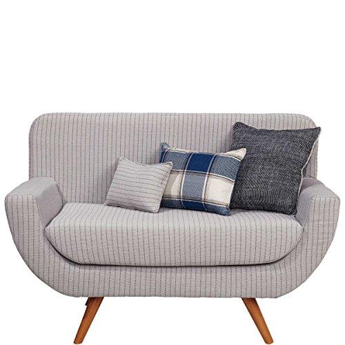 sofabank inklusive 3 kissen retro couch polsterm bel. Black Bedroom Furniture Sets. Home Design Ideas
