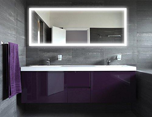 newyork21 led spiegel badspiegel mit beleuchtung verschiedene gr en ausw hlbar modern und. Black Bedroom Furniture Sets. Home Design Ideas