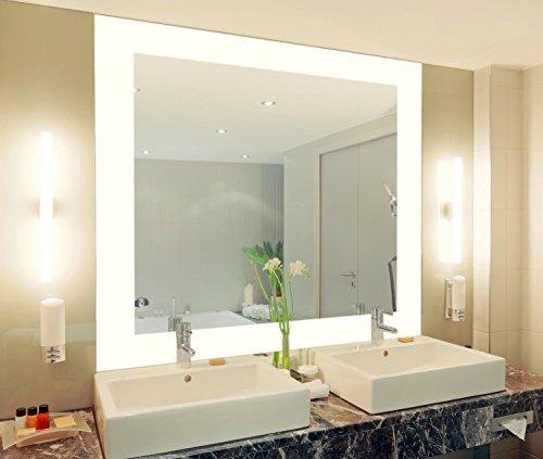 badspiegel mit beleuchtung vella m444l4 design spiegel fr badezimmer beleuchtet mit led licht. Black Bedroom Furniture Sets. Home Design Ideas