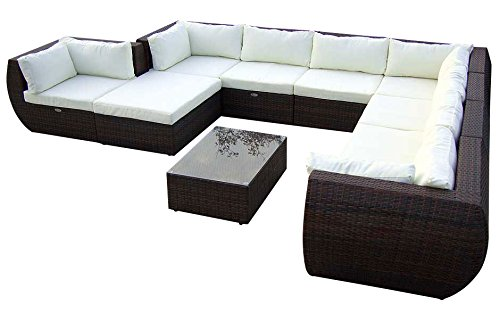 baidani gartenm bel sets designer xxl sofa extreme hocker mit auflage couch. Black Bedroom Furniture Sets. Home Design Ideas
