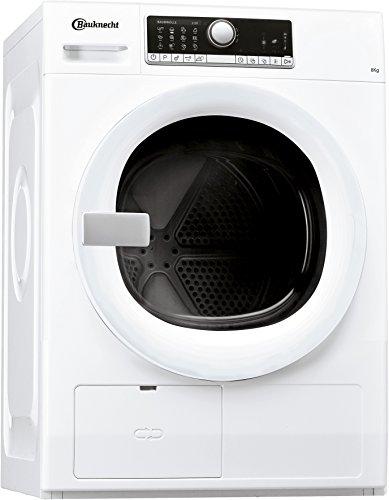 Bauknecht TK Care 824 Wärmepumpentrockner/A+++/8 kg/Verbesserter Knitterschutz/Supersanft- Programm für sehr empfindliche Textilien/weiß
