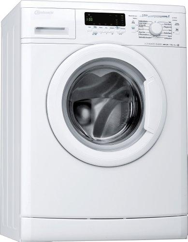 Bauknecht WA Eco Star 74 PS Waschmaschine Frontlader / A+++ / 1400 UpM / 7 kg / Weiß /  UltimateCare Schontrommel / ProSilentMotor /Big window / unterbaufähig