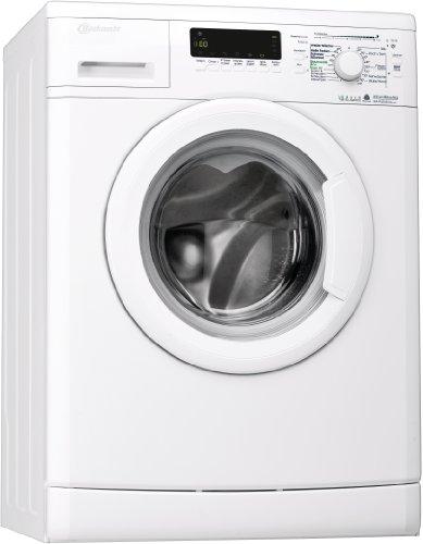 Bauknecht WA PLUS 634 Waschmaschine Frontlader/A+++ / 4 Jahre Herstellergarantie / 1400 UpM / 6 kg/Startzeitvorwahl / 15 Minuten Programm/Farbprogramme / weiß