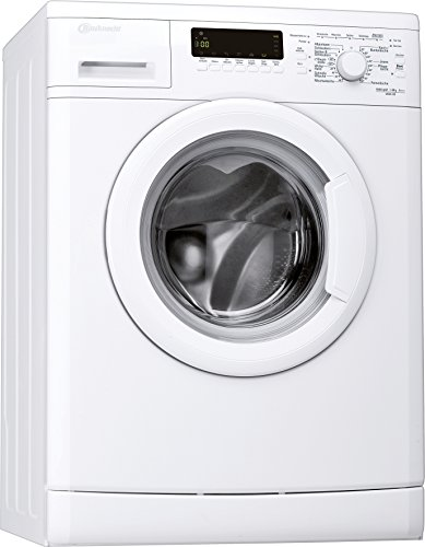 Bauknecht WAK 83 Waschmaschine FL / A+++ / 193 kWh/Jahr / 1400 UpM / 8 kg / 11000 L/Jahr / Mengenautomatik /Unterbaufähig / weiß