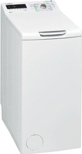Bauknecht WAT UNIQ 632 A+++ Waschmaschine Toplader / 1200 UpM / 6 kg / Weiß / Zen-Technologie / Vollwasserschutz / Big window /Mengenautomatik