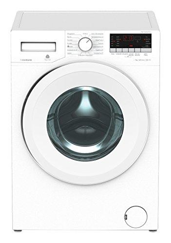 Beko PWY 731631 PTLE Waschmaschine  / A+++ / 171 kWh/Jahr / 1600 UpM / 7 kg / Multifunktionsdisplay / weiß / XL-Tür mit 34 cm Einfüllöffnung  / 15 Programme / ProSmart Inverter Motor / Pet Hair Removal / Mengenautomatik /  Watersafe / BabyProtect
