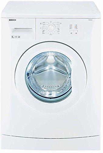 BEKO WB 10805IT autonome Belastung Bevor 5kg 800tr/min A + Weiß Waschmaschine–Waschmaschinen (autonome, bevor Belastung, weiß, links, Edelstahl, Weiß)