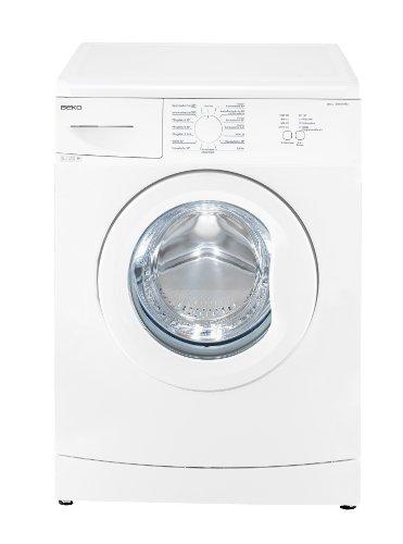 Beko WML 15106 MNE+ Waschmaschine/A+ / 168 kWh/Jahr / 1000 UpM / 9900 L/Jahr / 5 kg/weiß / Nur 41 cm tief/Mengenautomatik / Mini 30-Programm / 15 Waschprogramme