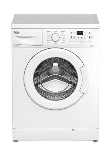 Beko WML 81433 MEU Waschmaschine/1400 UpM/8 kg/weiß/Mengenautomatik/Kurzprogramm/Watersafe/Aquawave-Schontrommel