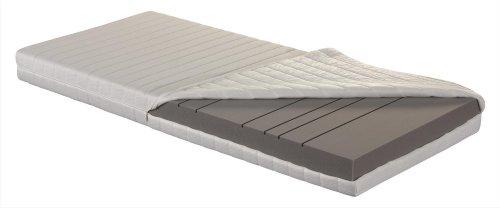 Betten ABC 7 Zonen Kaltschaummatratze OrthoMatra KSP-500 XXL / Stabile orthopädische Matratze in 140 x 200 cm - Härtegrad H4 für Personen ab 100 kg / Allergikergeeignet