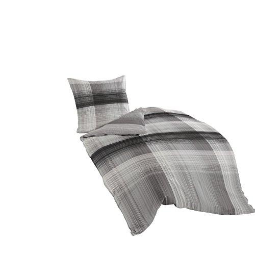 bierbaum 6597 03 mako satin bettw sche dessin 03 135 x. Black Bedroom Furniture Sets. Home Design Ideas