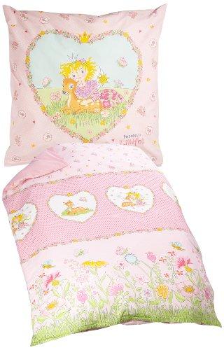bierbaum 2239 01 wohnen renforc kinder lizenz bettw sche 135 x 200 cm rosa m bel24. Black Bedroom Furniture Sets. Home Design Ideas
