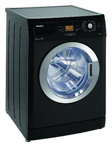 Blomberg WNF 74461 ZCE20 Waschmaschine Frontlader / A++B / 194 kWh/Jahr / 1400 UpM / 7 kg / Großes Display / AquAvoid(TM) plus / piano black