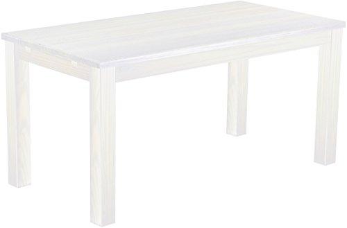 brasilm bel esstisch 39 rio classico 39 180 x 80 cm pinie massivholz farbton wei m bel24. Black Bedroom Furniture Sets. Home Design Ideas
