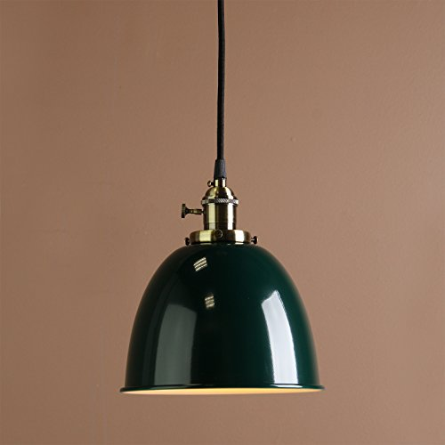 Buyee® Modern Vintage Industrial Metal Lampe Edison-Lampe Retro Lampe Shade Loft Coffee Bar Küchenhängependelleuchte Lampen Licht (Grün )