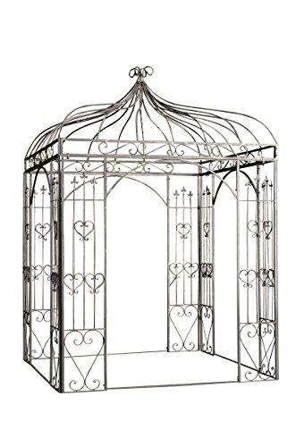 clp rosenpavillon manja aus eisen mit stilvollen verzierungen i rankpavillion aus. Black Bedroom Furniture Sets. Home Design Ideas