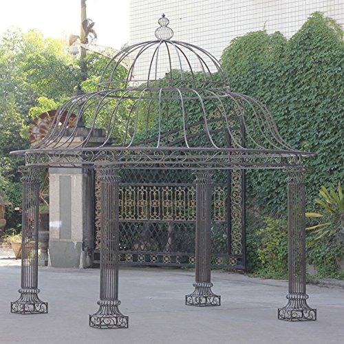 clp runder garten pavillon palais aus stabilem eisen. Black Bedroom Furniture Sets. Home Design Ideas