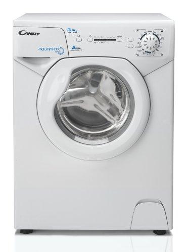 Candy Aqua 835 1D Waschmaschine FL/A / 147 kWh/Jahr / 800 UpM / 3,5 kg / 5800 L/Jahr / nur 44 cm tief/nur 69,5 cm hoch/silber