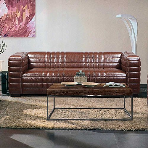 pharao24 couch im retrostil braun m bel24. Black Bedroom Furniture Sets. Home Design Ideas