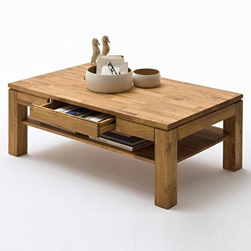 couchtisch holz massiv eiche mit schublade massivholz wohnzimmer tisch asteiche julian m bel24. Black Bedroom Furniture Sets. Home Design Ideas