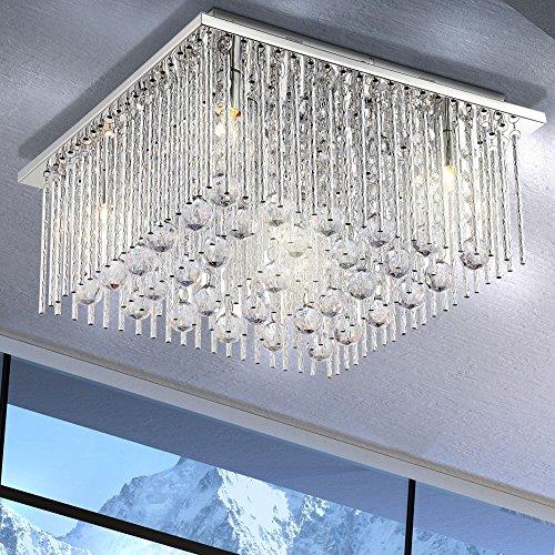 Deckenleuchte Decken Beleuchtung Acrylglas Wohnzimmer Esto Crystallite 940032-5
