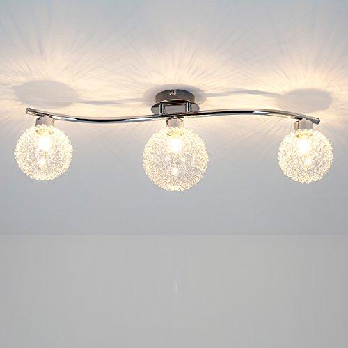 Deckenleuchte ramon 3 flammig modern deckenlampe for Deckenlampe wohnzimmer modern