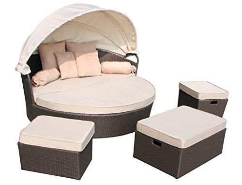 design polyrattan lounge insel loungeset loungeinsel st tropez anthrazit m bel24. Black Bedroom Furniture Sets. Home Design Ideas