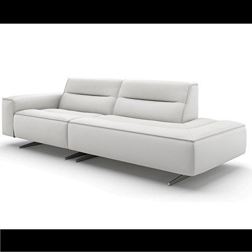 Design Zweisitzer Ledersofa Ledercouch XXL BIG 2er Wohnlandschaft Couch Sofa Couchgarnitur