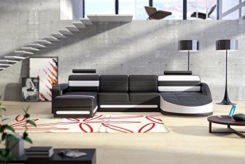 Designer ledersofa ecksofa wohnlandschaft couch sofa for Ledersofa wohnlandschaft