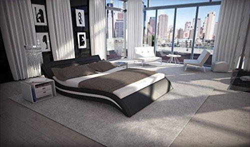dual wasserbett accent schwarz komplett set m bel24. Black Bedroom Furniture Sets. Home Design Ideas