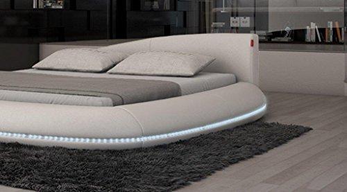 dual wasserbett modica led komplett set 0 m bel24. Black Bedroom Furniture Sets. Home Design Ideas