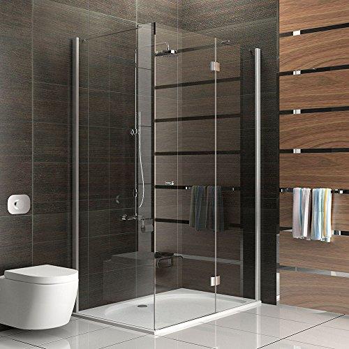 duschkabine echtglas eck dusche rahmenlose duschkabine. Black Bedroom Furniture Sets. Home Design Ideas