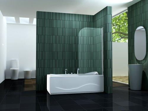 duschtrennwand solto badewanne m bel24. Black Bedroom Furniture Sets. Home Design Ideas