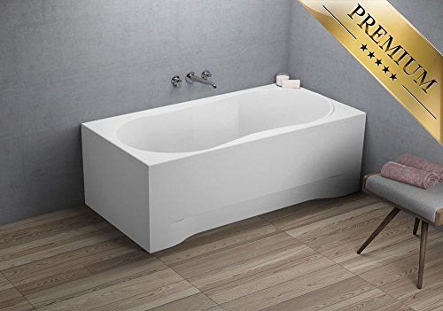 Exclusive line rechteck badewanne acryl design 160x70 cm for Exclusive esszimmertische