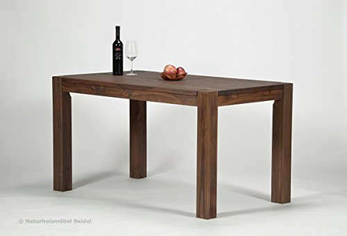 esstisch rio bonito 140x80 cm pinie massivholz ge lt und gewachst holz tisch f r. Black Bedroom Furniture Sets. Home Design Ideas